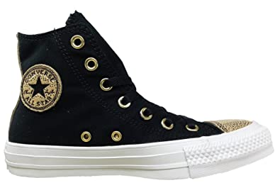 8eb355981060 Converse Chuck Taylor All Star Side Zip Sneaker 6 Black  Amazon.co ...
