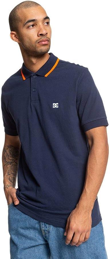 DC Shoes Stoneybrook - Camisa Polo de Manga Corta - Hombre - XS: Amazon.es: Ropa y accesorios