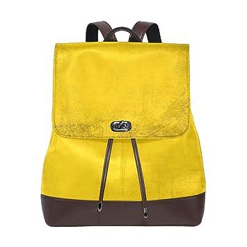 FANTAZIO Mochilas Bandera Alemana Colors School Bag Leather Daypack: Amazon.es: Deportes y aire libre