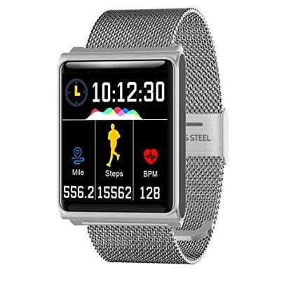 Amazon.com : QEAC Smart Watch Ip67 Waterproof Color Screen ...
