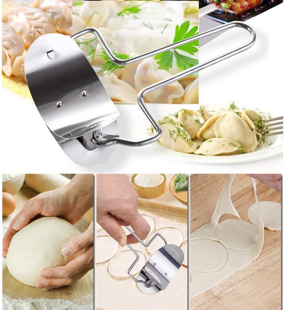 Cuisine Moules XLGX Lot de 3 Moules a Chaussons Acier Inoxydable Machine /à P/âtes Moule et P/âte Pression Boulette Maker Pie Ravioli Moule /à P/âtisserie Ustensiles de Cuisine