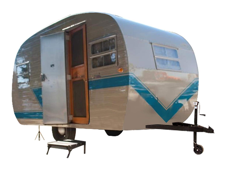 12' Teardrop Travel Trailer DIY Plans Tear Drop Camper RV Build Your