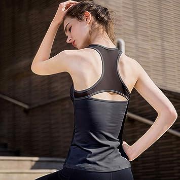 Top de Ropa de Yoga para Mujer con Almohadilla en el Pecho ...