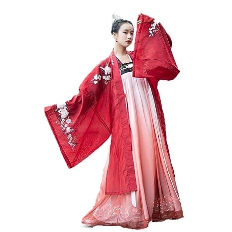 YCWY Traje Chino Antiguo de la Mujer, Vestido Chino ...