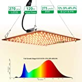 Carambola 1000W LED Grow Light 2x2 ft Sunlike Full Spectrum Led Grow Lamp Plants Growing Lights for Hydroponic Indoor Seeding Veg and Bloom Greenhouse Growing Light Fixtures Four for 4x4 Coverage