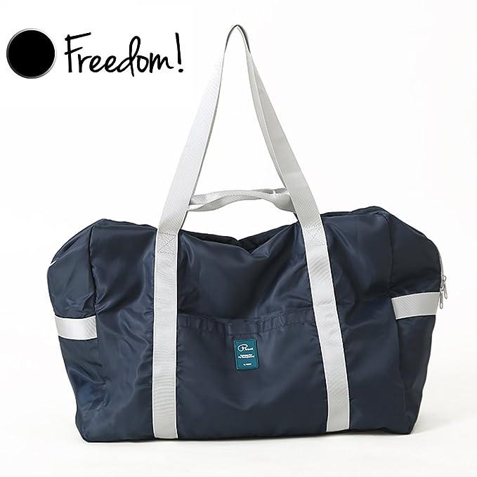d2d3e5a2252d Foldable Travel Duffel Bag Carry-On Lightweight Tote Handbag with Zipper on  Flight   Holdalls
