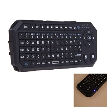 Asiright IBK-22 - Mini teclado inalámbrico de 2,4 GHz 4G, ratón de control flexible: Amazon.es: Electrónica