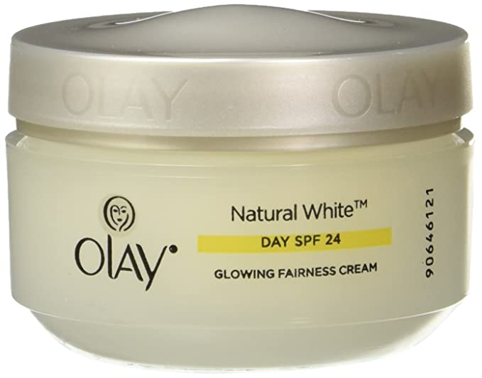Olay Natural White 7 in 1 Glowing Fairness Day Skin Cream SPF 24, 50g