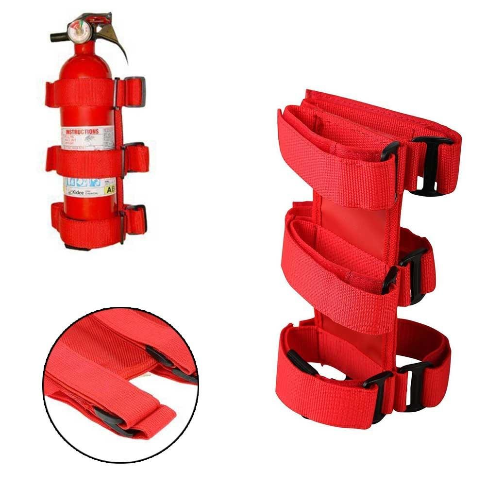 RUNGAO Fire Extinguisher Fixing Auto Car Holder Belt Automobile Fit For Jeep Wrangler TJ YJ JK CJ