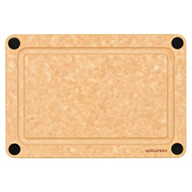 Epicurean Non-Slip 9.5  X 6  Meal Prep Wood Cutting Board with Juice Groove