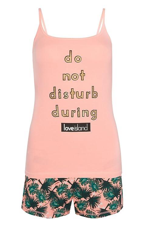 Primark Pijama - para Mujer Rosa Coral Small 38-40: Amazon.es: Ropa y accesorios