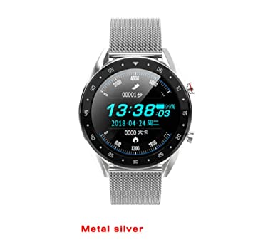 HNLZGL L7 L5 M8 ECG Hombre Smartwatch GPS Pulsera Deportiva BT ...