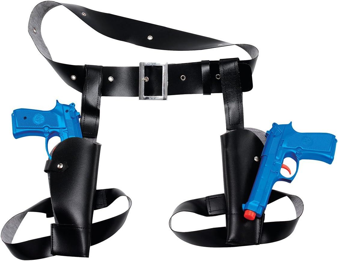 Laura CROFT THIGH HOLSTER SET WITH 2 X GUNS (accesorio de disfraz)