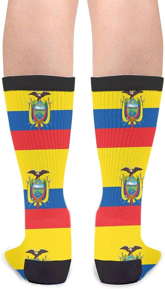 YISHOW Ecuadorian Flag Funny Crew Socks