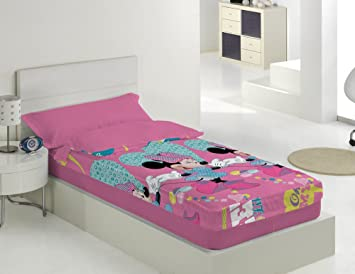 Saco nordico con relleno Beautiful Minnie para cama de 90: Amazon.es: Hogar