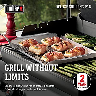Weber Style 6435 Professional-Grade Grill Pan | Made in USA