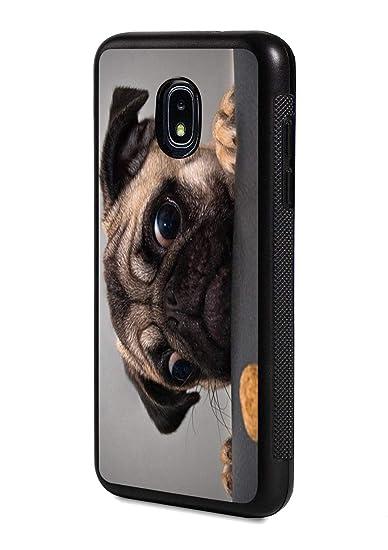 samsung galaxy j3 case pug