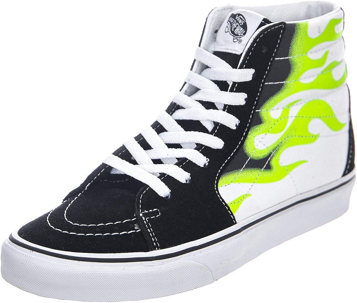 Amazon.com: Vans Sk8-Hi (Flame): Shoes