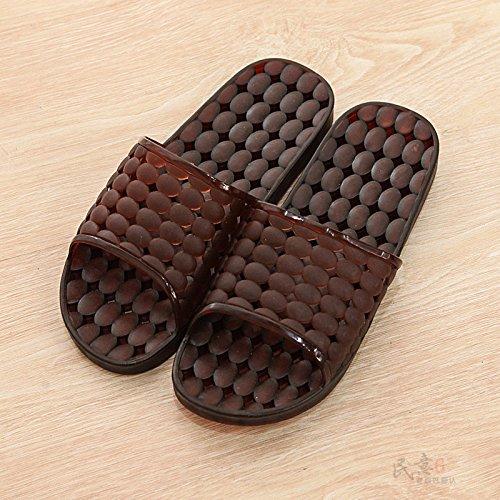 piano da e camera ciabatte letto camera Uomini letto da bagno YMFIE piscina traspirante silent punta antislittamento scarpe da E calzature X0fZwx