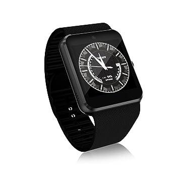 FLy Smart Watch QW09 Llamada 3G Mobile Payment Sistema Android WiFi Fashion Photo Steps Movement Reloj Inteligente (Color : Negro): Amazon.es: Deportes y ...
