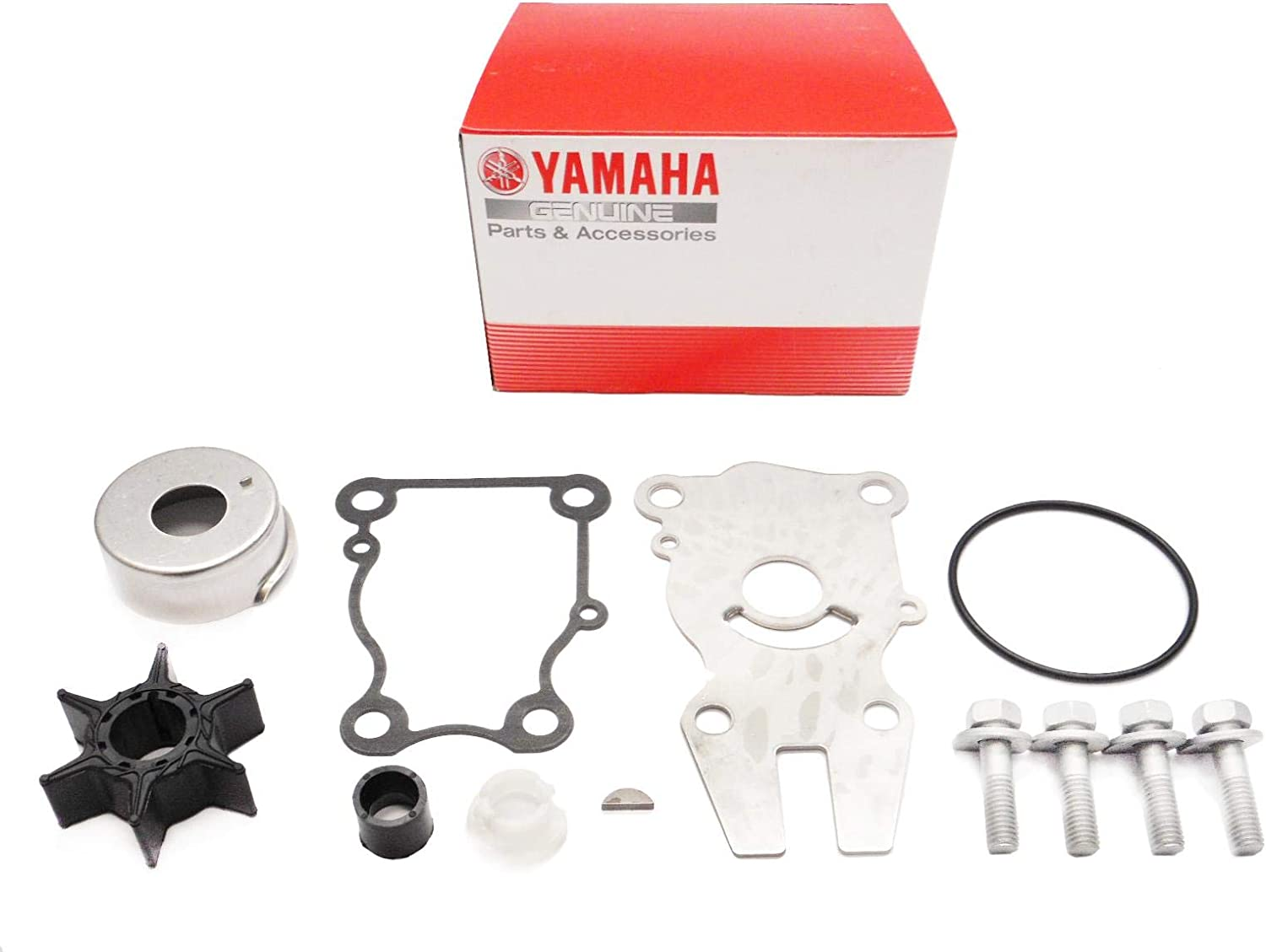 Yamaha Outboard OEM Water Pump Impeller Repair Kit 63D-W0078-01-00 63DW00780100