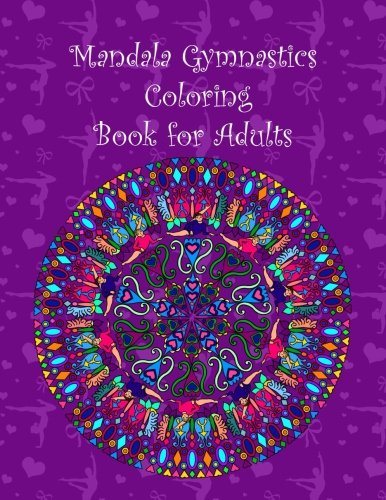 amazon com mandala gymnastics coloring book for adults