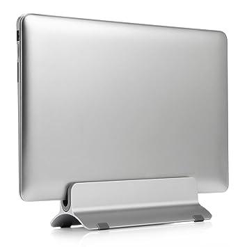 Soporte vertical de aluminio para ordenador portátil de Lokeke. Soporte de sobremesa para MacBook Air
