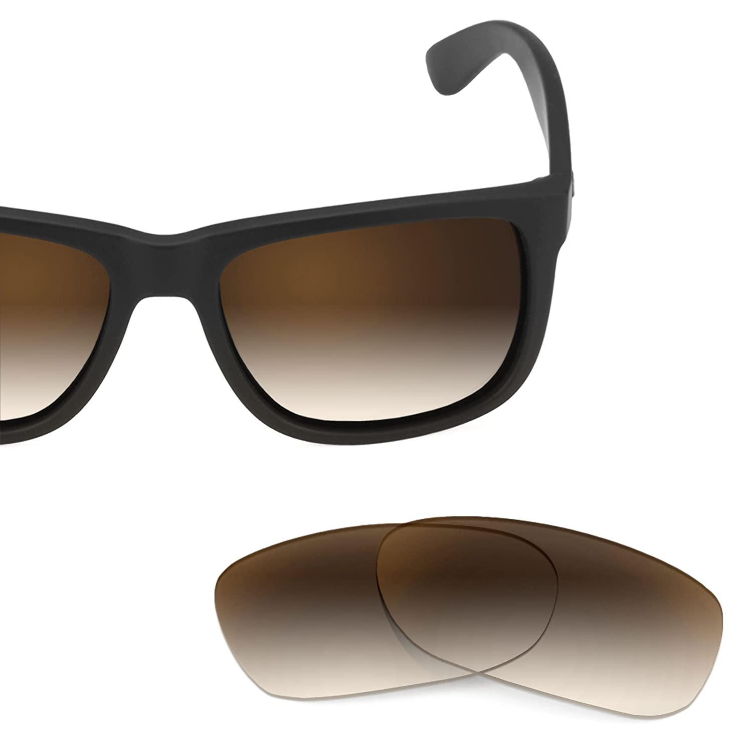 Revant Replacement Lenses for Ray Ban Justin 54mm RB4165