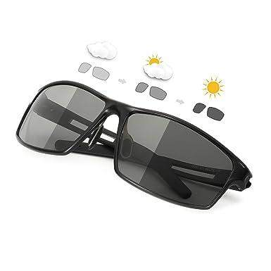 SIPHEW Gafas de Sol Hombre Polarizadas Eliminar Reflejos-Gafas Fotocromaticas Protección 100% UVA/UVB