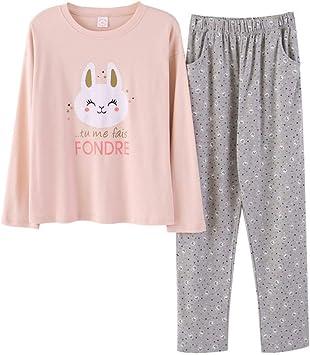 JZX la Ropa Puede Usarse Fuera Batas Ropa de Noche Pijama ...