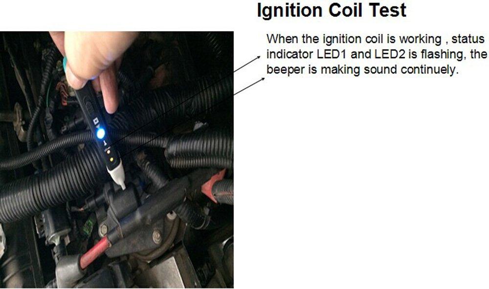 Detector electr/ónico de Fallos automotrices Master MST-101