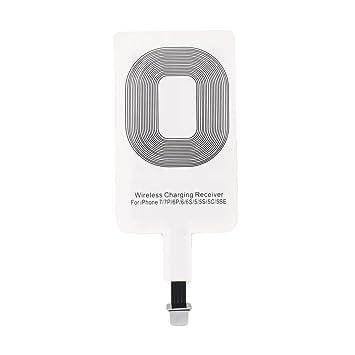 WOSOSYEYO para iPhone portátil inalámbrica Qi Cargador ...