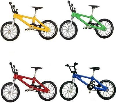vientiane Bicicleta de Dedo de 4 Piezas,Mini Bicicleta de Aleación ...