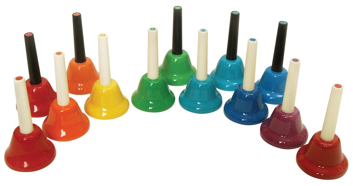 Kids Play 13-Note Chromatic Handbells