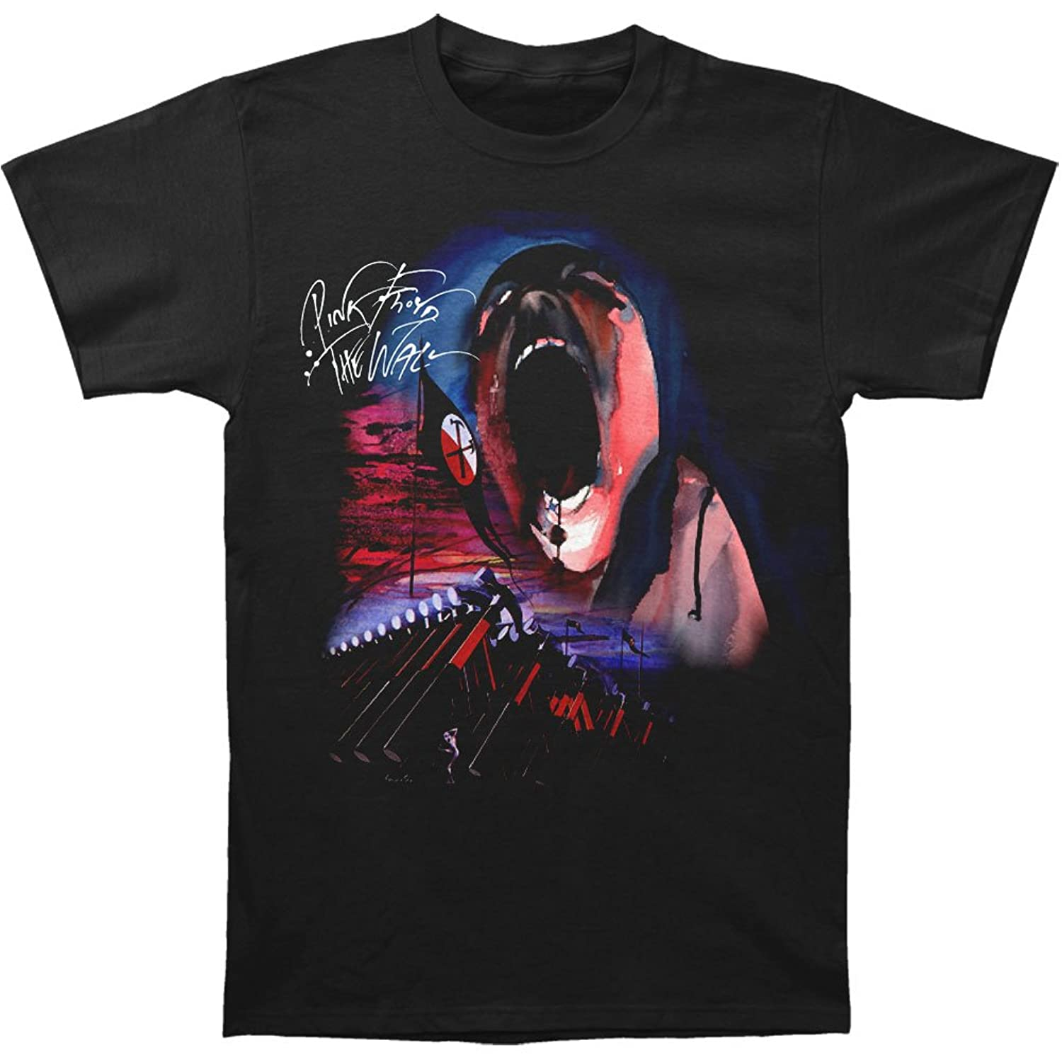 Pink Floyd - Mens Hammer March with Face T-Shirt