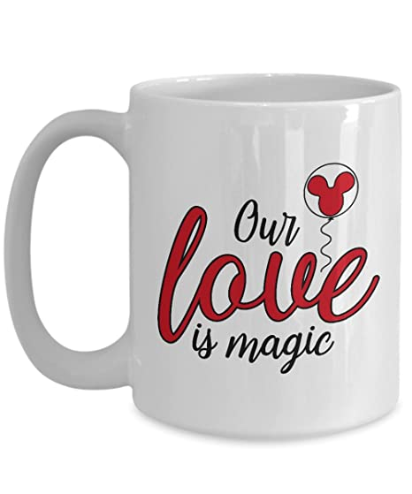 Amazon.com: Nuestro Amor Es Mágica taza regalo para esposa ...