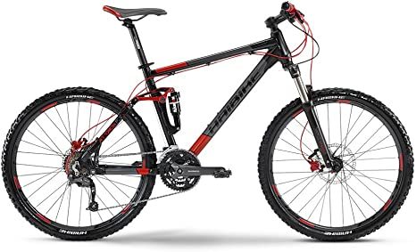 Haibike MTB Attack FS 26 Zoll 27-G SLX Mix Matt - Bicicleta de ...