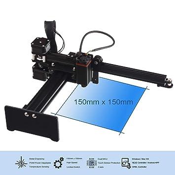 TXHM35 Máquina de grabado de talla, impresora láser de ...