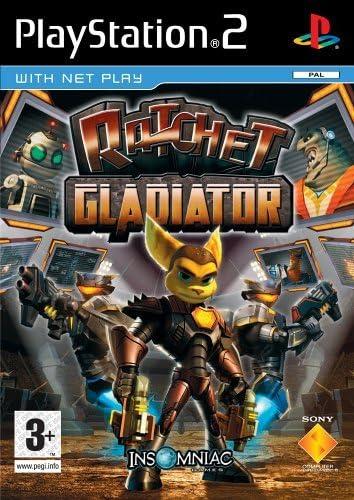 Sony Ratchet: Gladiator Essential Experience - PS2 PlayStation 2 vídeo - Juego (PlayStation 2, Aventura, EC (Niños), Insomniac Games): Amazon.es: Videojuegos