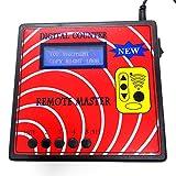 10 Generation Blue Screen Digital Counter(Remote master),Fixed/Rolling Code Copy Machine Remote Copier