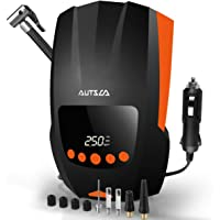 $34 » AUTSCA Air Compressor Tire Inflator for car with digital display, DC 12V 150PSI with Emergency…