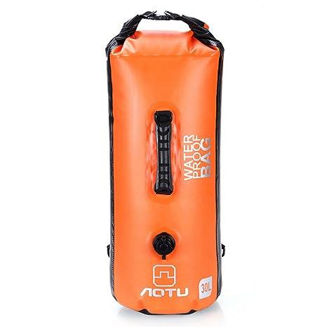 AT6615 - Mochila hinchable de gran capacidad, impermeable, 30 L ...
