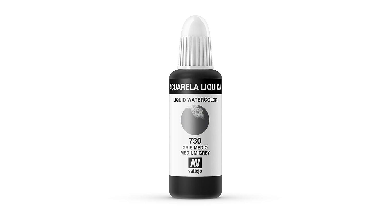Vallejo - Acuarela líquida 32ml, color sepia: Amazon.es: Juguetes ...