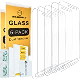 [5-PACK]-Mr.Shield For Samsung Galaxy S6 Active (Not Fit For Galaxy S6) [Tempered Glass] Screen Protector [0.3mm Ultra Thin 9H Hardness 2.5D Round Edge] with Lifetime Replacement