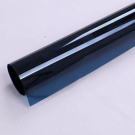 HOHO - Rollo de vinilo adhesivo para ventana, 50 x 600 cm, color azul oscuro: Amazon.es: Hogar