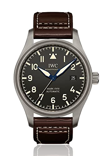 Modelo #: iw327006 Heritage IWC reloj de piloto Mark XVIII 40 mm para hombre: Amazon.es: Relojes