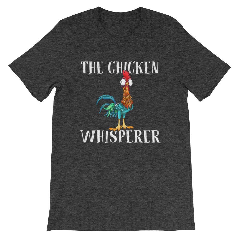 DKH-store Farmer Humor The Chicken Whisperer Gift for Mens Womens Girls T-Shirt