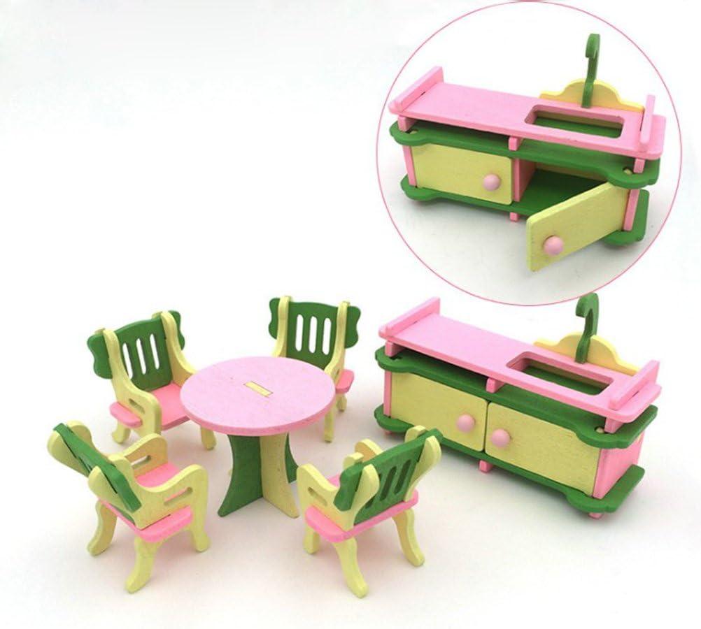 Mini Bambole E Accessori Toymytoy Set Miniature Mobili Da Cucina Di Legno Per Giochi Di Bambini E Decorazioni Casa Di Bambole Giochi E Giocattoli Jutshi Ru