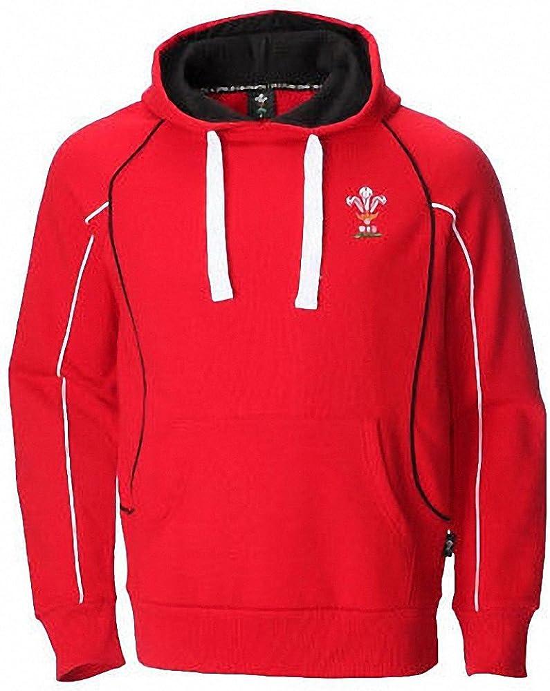 ORIGINMENSWEAR Sweat Shirt à Capuche Homme Rouge Red X