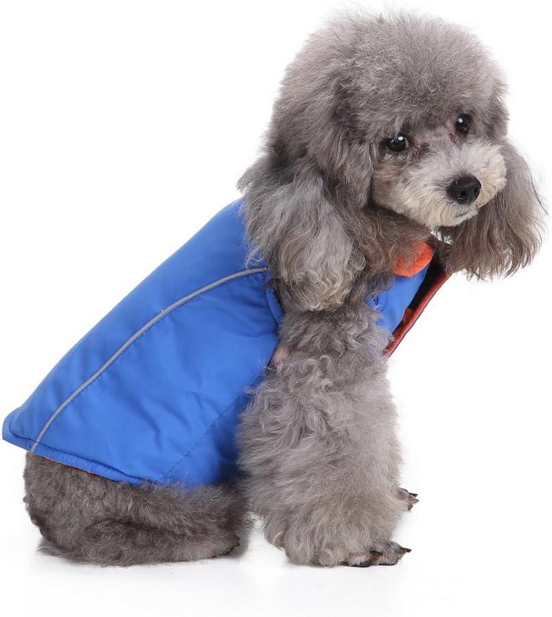 Adatto a Tutti i Cani di Piccola Taglia,Stile Dinosauro Aikesi Vestito per Cani con Quattro Zampe in Cotone Cappotto con Cappuccio per Cane Invernale